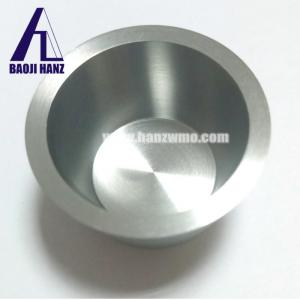 China Sintering and forging niobium crucible for electrode in electrolysis on sale