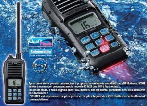 Waterproof Walkie Talkie Marine CB Radio Communicator M23 for sale