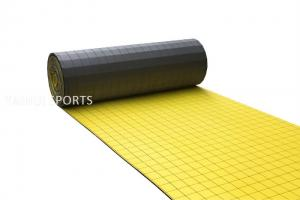 China PE Foam Double-Sided Grooved Artificial Turf Shock Pad Synthetic Grass Underlay Two Layers Sports Pitch Indoor on sale