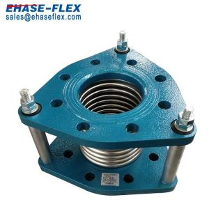China Metal Flexible Joint with Flanges to Abosorb Vibration on sale