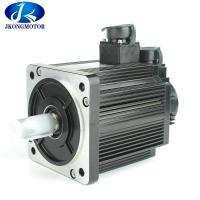 China 3 phase ac motor -G2A3204 Driver AC Servo Motor 80mm 220 Voltage 400W 1.3N.M 3000rpm on sale
