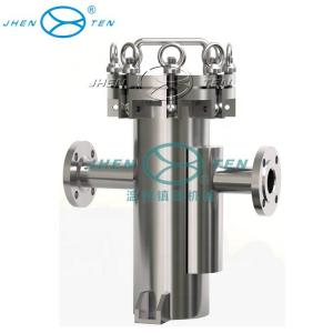 China Hydraulic Basket Strainer Mesh Type Pipe Sanitary Industrial Oil Filter Housing on sale