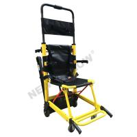 China Disable Electric Stair Climbing Wheelchair Stretcher Detachable Lithium Battery on sale