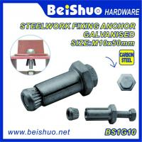 High Quality  Hot Sales Carbon steel  Zinc plated Hot dip Galanised  Expansion Anchor Bolt and Wood Anchor Bolt