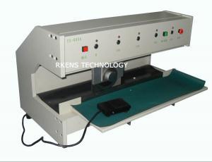 China Motorized V - Scored Pcb Shear Cutter Pcb Separator Machine Programmable on sale