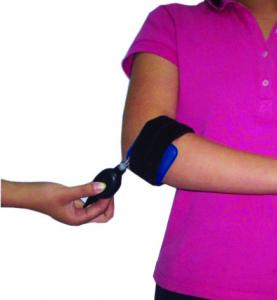 China Hot / Cold Air Compression Elbow Support Brace Flexible With Pneumatic Pump on sale