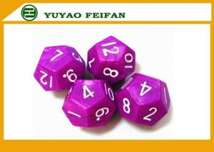 China 12pcs Polyhedral Dice Set D3 - D60 Coolest Dice Sets RPG Engraved Dot Surface on sale
