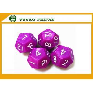 China 12pcs Polyhedral Dice Set D3 - D60 Coolest Dice Sets RPG Engraved Dot Surface on sale