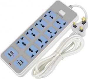 China USB smart plug-in home multi-function socket European style plug on sale