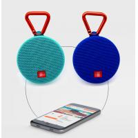 Wholesale promotion cheap waterproof mini handsfree speaker with fabric with FM radio