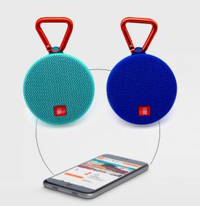 China Wholesale promotion cheap waterproof mini handsfree speaker with fabric with FM radio on sale