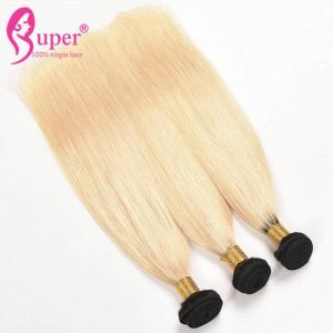China Straight Blonde Ombre Hair Extensions / Weave Hair Extensions Sydney on sale