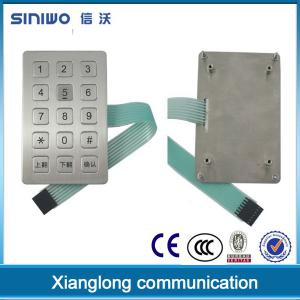 China access control vandal resistance keypad B22 on sale