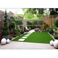 12000 Dtex Strong Pile Artificial Grass Garden For Home And Public Place