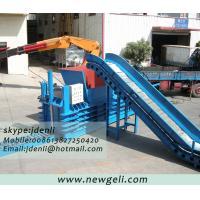 China machine de emballage de carboard, équipement de papier de presse, machine de compression de papier de rebut on sale