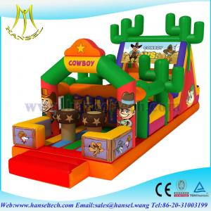 China Hansel adventure playground equipment,obstacle sport game indoor and outdoor on sale