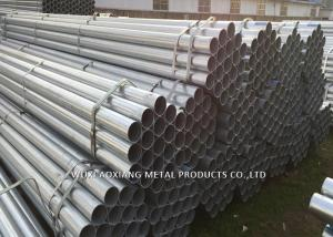 China Galvanized  Seamless  Steel Pipe ASTM A53 Gr B For Heating Pipe Application on sale