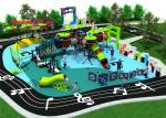 Concert Series Outdoor Playground Equipment Pre - Embedded Fixing Method