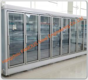 China Commercial Refrigeration Display Chiller Glass Door Display Freezer Glass Door on sale