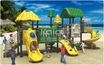 Eco - Friendly Play Gym Outdoor Playground Equipment Anti - Crack 3 Years Warranty