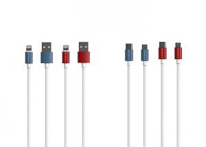 China C06 Meteor Lighting Data Cable Transmission Micro USB With Rubber Bar Texture on sale