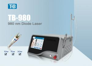 China Clinic 980 nm Diode Laser Vascular Therapy Machine With Air Cooling System on sale