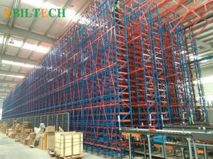 China Automatic  Warehouse System , Storage And Retrieval Machine Apply In Food  Tobacco on sale