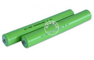 China Batería potente 2.4V AA 900mAh de Nimh con el tubo del encogimiento del PVC on sale