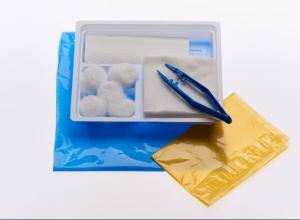 China Disposable Sterile Wound Care Packs , Medical Dressing Pack Set Single Use on sale