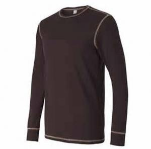 China High quality custom comfort o-neck plain cotton long sleeve thermal underwear bulk buy clothing on sale