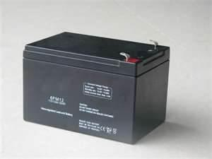 China Valve regulated lead acid Gas Recombination 12v 12ah 6FM12H UPS High rate Vrla Batteries on sale