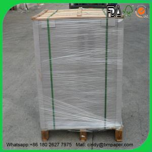 China Competitive Prices Roll Packing Duplex Paper Card Board 250gsm 350gsm 400gsm on sale