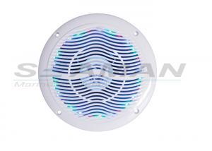 China RGB led 6.5inch 240w dual full range Waterproof Marine Audio Equipment for all boats  ATV UTV on sale