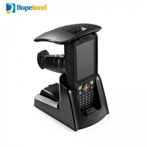 China Animal Handheld UHF RFID Reader 868mhz Scanner Long Range Android / Windows OS Optional on sale
