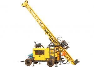 China Trailer Mounted Portable Diamond Core Drill Rig With BQ 1500m Drilling Capacity on sale
