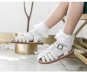 China White Girls Princess Dress US 6-12.5 Stylish Kids Shoes CPC on sale
