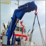 Hydraulic Workshop Knuckle Boom Cargo Hose Crane Marine Ship Crane