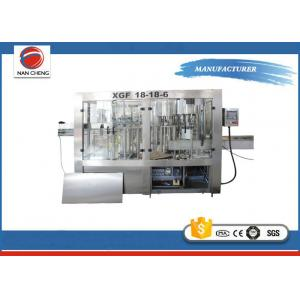 China Commercial Customized Auto Water Filling Machine 5KW 6000BPH 2500 X 1750 X 2200mm on sale