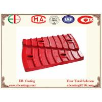 China Φ36004500 Mine Mill Feed End Liner Plates for Grinding Al2O3 Ore ASTM A532 Cr20Mo EB7007 on sale