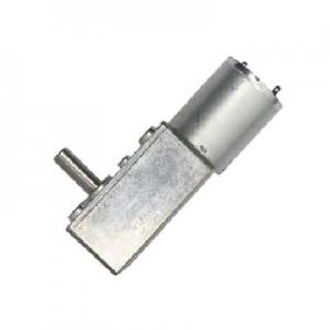 China Low Power Consumption DC Worm Gear Motor Large Torque with 32mm Diameter on sale