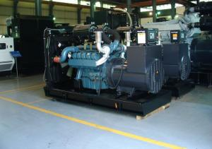 Quality High Voltage Accuracy 120KW Open Type Diesel Generator With Good Compact Layout for sale