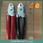 100% Iron Straight Angled Hog Ring Pliers , Red color C26 and C22 Hog Ring