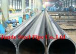 Hot Rolled Seamless Carbon Steel Pipes size of 219mm x 8.18mm with CE ,PE , ISO , IBR API certificate .