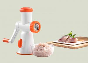 China Non Electric Manual Meat Mincer High Impact Plastic Body Chili Processor on sale