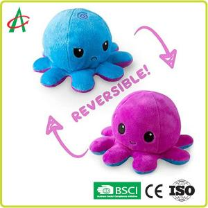 China Double Side Octopus Mood Doll 40x50mm Change Face Can Turn Over on sale
