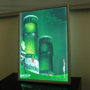 China 420x290mm led illuminated super slim light box on sale