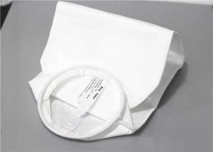 China Customized 5 Micron Filter Sock , Cloth Filter Bags For Water Treatment on sale
