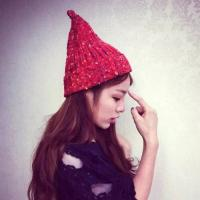 red lovely hat ,nice chrismers gift,warmly ,fashion and  affordable hat
