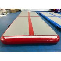 Home Inflatable Air Track PLG-047 PVC Tarpaulin Sides Easy Installation