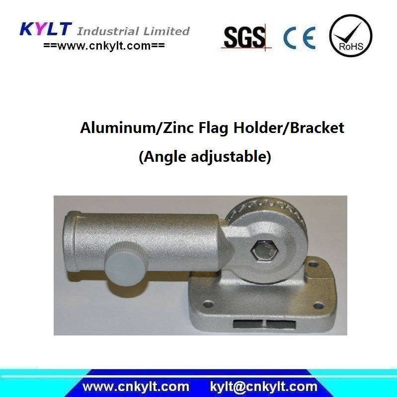 metal angle adjustable flagpole bracket